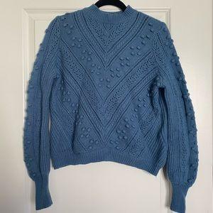 French Blue Sezane Sweater